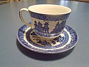 Johnson Bros Cups And Saucers