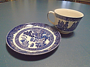Johnson Bros Willow Saucers Only