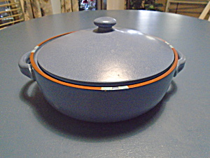 Dansk Mesa Sky Blue Covered Casserole 2 Quart Portugal
