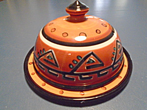 Tabletops Hopi Covered Butter Or Cheese Dish