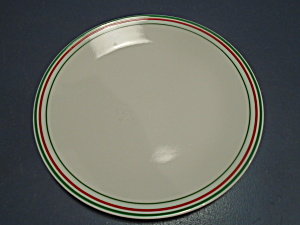 Corelle Holiday Bands Dinner Plates