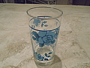Corelle Blue Velvet Iced Tea Glasses