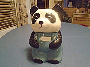 Panda Cookie Jar 1985 (Image1)