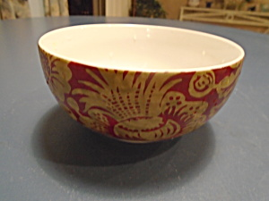 222 Fifth Belorado Red Cereal Bowl