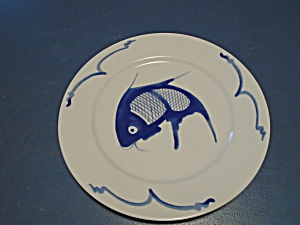 Asian Fish Salad Plates