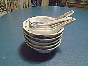 Made In China Fish Bowls And Spoons
