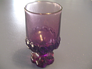 Franciscan Madeira Wine Goblets Plum