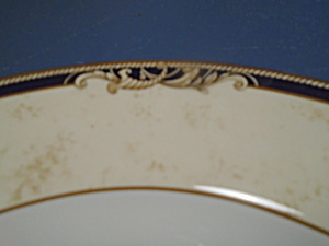Wedgwood Bone China Cornucopia Dinner Plates New