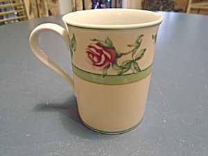 Wedgwood Rose English Cottage Tall Mugs