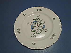 Wedgwood Williamsburg Wild Flowers Bread and Butter Plates (Image1)