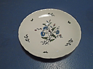 Wedgwood Williamsburg Wild Flowers Saucers (Image1)