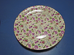 Baum Bros Formalities Chintz Dinner Plates