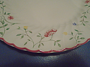 Johnson Bros. Summer Chintz Dinner Plates 10.5 In.
