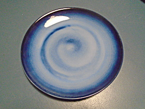 Sango Nova Blue Very Dark Color Salad Plates