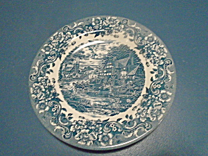 Staffordshire Engravings 17th Century Dinner Plates