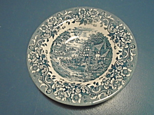 Staffordshire Engravings 17th Century Rimmed Soup Bowls