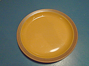 Dansk Blt Pottery Orange Dinner Plates
