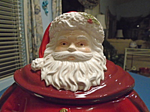 Royal Santa Claus Cookie Jar ELEGANT (Image1)