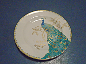222 Fifth Peacock Garden Appetizer Plates