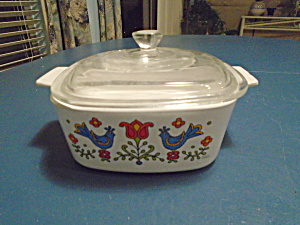 Corning Ware Friendship 6.5 In. Square Covered Casserole