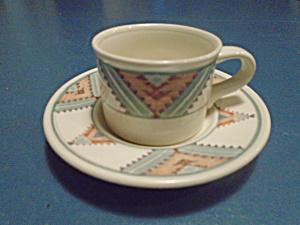 Mikasa Santa Fe Demitasse Cup and Saucer Sets (Image1)