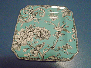 222 Fifth Adelaide Turquoise Square Lunch/salad Plates