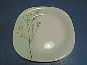Dansk Green Flora Square Salad/lunch Plates Portugal