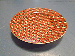 Fitz And Floyd Basketry Rimmed Soup Bowls