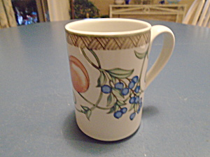 Dansk Umbrian Fruits Tall Mugs