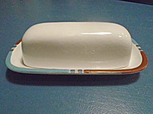 Dansk Mesa White Sands Covered Butter Dishes Portugal