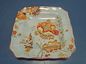 222 Fifth Gabrielle Spring Blue Lunch/salad Plate