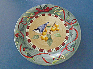 Lenox Winter Greetings Nuthatch Dinner Plate