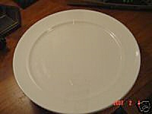 Villeroy & Boch Castell White Rimmed Dinner Plates - Luxembourg (Image1)