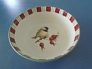 Lenox Winter Greetings Everyday Chickadee Bowl