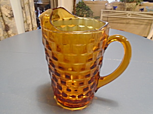 Colony Whitehall Fostoria Amber 2 Qt. Pitcher