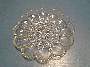 Indiana Glass Deviled Egg Plate 9 In.