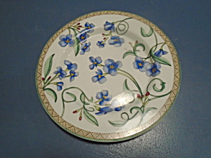Dansk Umbrian Flowers Salad Plate Portugal