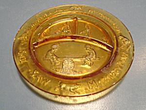 Tiara Amber Nursery Rhyme Divided Plates (Image1)