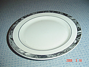 Villeroy & Boch Black Beaulieu Bread And Butter Plates