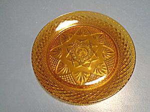 Luminarc Antique Amber Dinner Plates CRIS D'ARQUES/DURAND  (Image1)