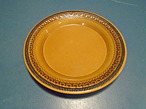 Franciscan Brown Creole Salad Plates