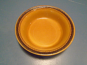 Franciscan Brown Creole Round Serving Bowl
