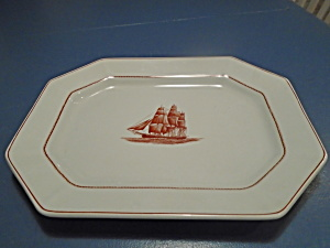Wedgwood Flying Cloud Oval Platter