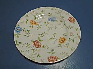 Queen's Rose Chintz Dinner Plate