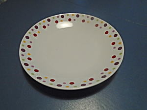 Pampered Chef Dots Pasta Serving Bowl 13.5 In. Very Large