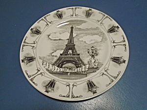 Sakura Slice Of Life Dinner Plates Eiffel Tower