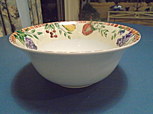 Dansk Scandinavian Orchard Large Salad Bowl