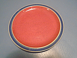 Denby Harlequin Red Blue Salad Plates  (Image1)