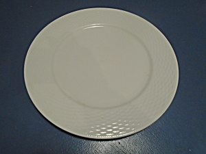 Tabletops Gallery Basketweave Dinner Plates
