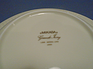 Mikasa Grande Ivory Imperial Lapis Rimmed Soup Bowls